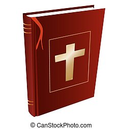 isolated Christian holy book Bible - Isolated Christian holy...