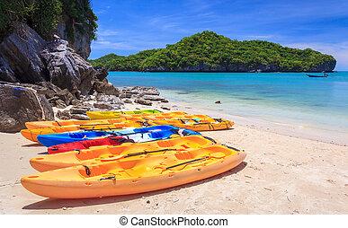 Angthong national marine park, koh Samui, Thailand -...