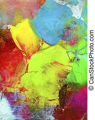 paint textures impasto colorful - paint textures colorful...