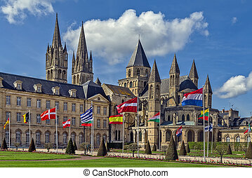 Abbey of Saint-Etienne, Caen, France - The Abbey of...