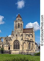 Church St. Etienne-le-Vieux, Caen, France - Church St....