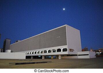 Brasilia - building in brasilia, brazil