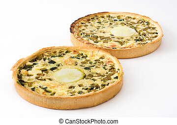 French quiche Lorraine vegetable - French quiche Lorraine...