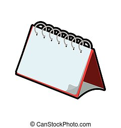 calendar planner day time agend icon Vector graphic -...