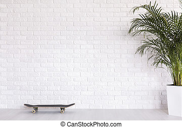 Freedom of interpretation of brick wall - Skateboard and...