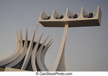 Brasilia city - church in brasilia, brazil