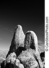 Alabama Hills Feature - The Alabama Hills are a range of...