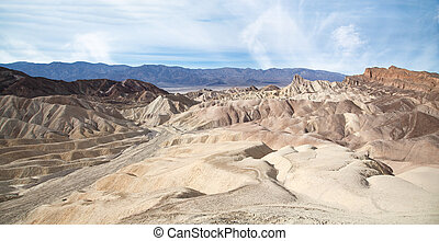 Zabriskie Point Landscape - Zabriskie Point is a part of...
