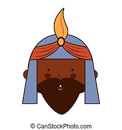 wise man character icon