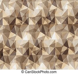 pattern polygonal background retro wallpaper icon. Vector...