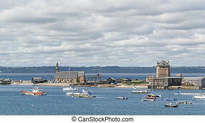 Camaret-sur-Mer in Brittany - Camaret-sur-Mer, a commune in...