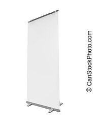 Blank Roll Up Display Banner