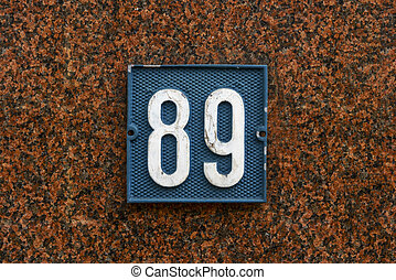 Number 89 - House number eighty nine
