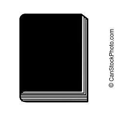 text book isolated icon vector illustration graphic