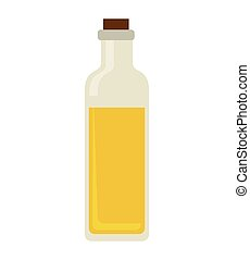 olive oil bottle icon vector illustration design