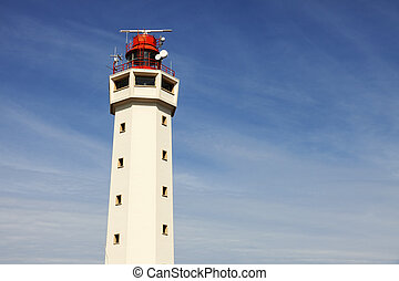 Le Havre Lighthouse. Le Havre, Normandy, France