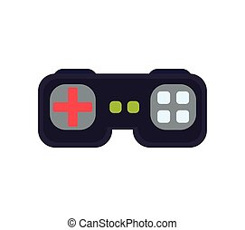 control pixel video game play icon Vector graphic - control...