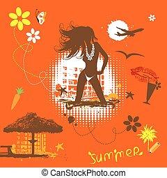 Summer vacations dream