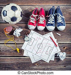 Plan to playing football in school