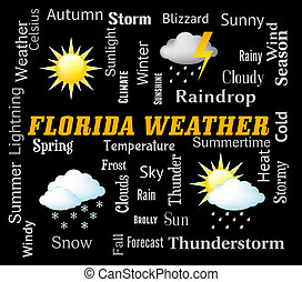 Florida Weather Means Meteorological Conditions And Climate...