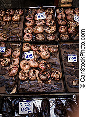 A Piscaria, Catania - Street food market, Piscaria, In...