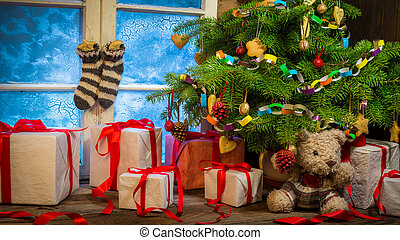 Enjoy your Christmas in rural cottage