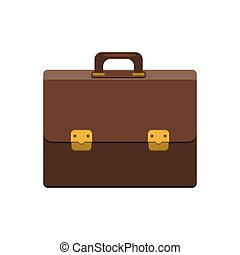 Briefcase icon. Flat style. - Briefcase Icon In Flat Style....