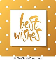 best_wishes_template - BEST WISHES LetteringBest wishes...