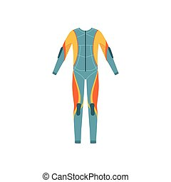 Full Body Neoprene Diving Suit Without A Hood Bright Color...
