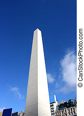 The Obelisco of Buenos Aires