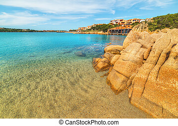 rocks in Porto Cervo, Sardinia