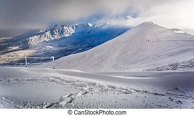 Kasprowy Wierch in winter