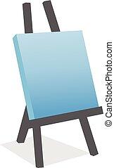 canvas Abstract art logo, creative art vector icon