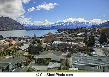 wanaka is a ski and summer resort town