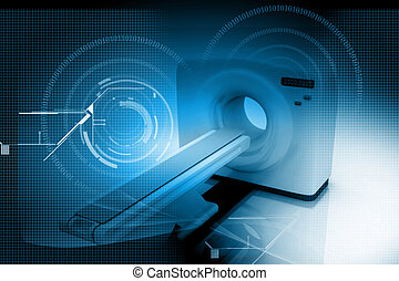 Medical equipment - Digital illustration of medical...