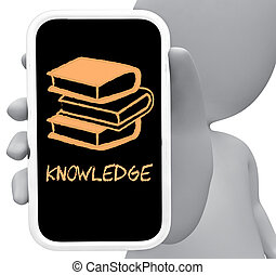 Knowledge Online Represents Mobile Phone And Comprehension...