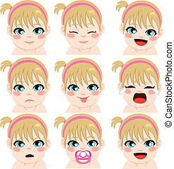 Baby Girl Expressions