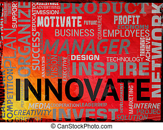 Innovate Words Means Restructuring Reorganization And Ideas...