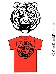 tiger print for fashion industry