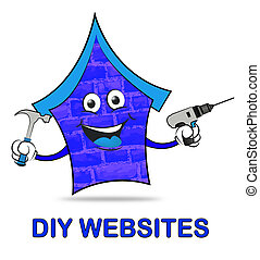 Diy Websites Represents Www Home And Habitation - Diy...