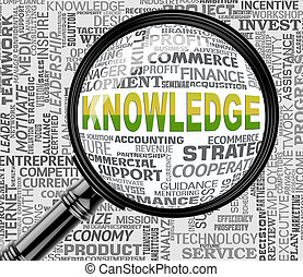 Knowledge Magnifier Indicates Searching Wisdom And...
