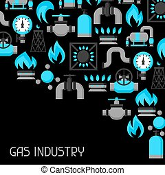 Natural gas production, injection and storage Industrial...