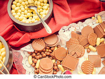 Traditional Turkey candies