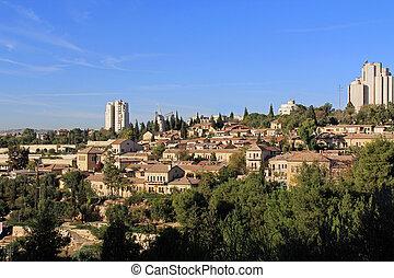 Yemin Moshe neighborhood and Montef - The Yemin Moshe...