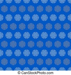 Christmas seamless wrapping paper - snowflakes - Christmas...