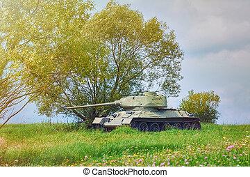 Tank of Second World War