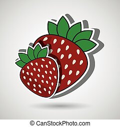 Nutritive food design, vector illustration eps10 graphic