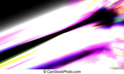 Abstract color light,laser,aurora - Abstract strokes of...
