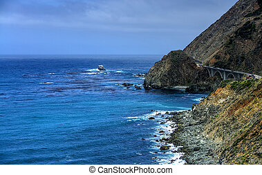 Bixby Creek Bridge Big Sur - Bixby Creek Bridge highway 1...