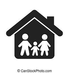 family insurance isolated icon